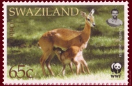 Swaziland_2001_Endangered_Species_-_Antelopes_a