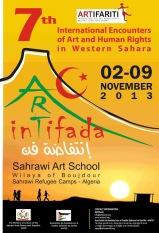 Western Sahara - Cartel ARTifariti 2013 by Mohamed Sulaiman