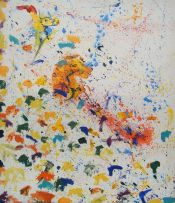 Zambia Henry_Tayali_-_Abstract_Painting,_1980s