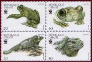 430px-Haiti_1999_Frog_and_Iguana_block_of_four