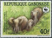 180px-Gabon_1988_African_Elephants_b