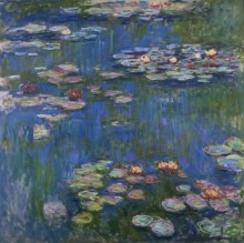 France Monet Water Lilies