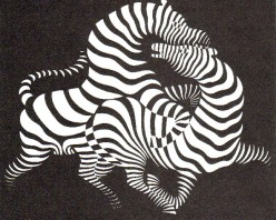 Hungary Vasarely zebra 1938