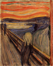 Norway The_Scream_by_Edvard_Munch,_1893_-_Nasjonalgalleriet